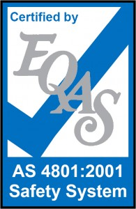 EQAS AS4801 Certification Logo