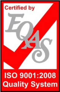 EQAS ISO9001 Certification Logo