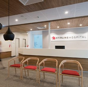 Stirling District Hospital – Reception, Foyer & Consulting Room Upgrade, Stirling